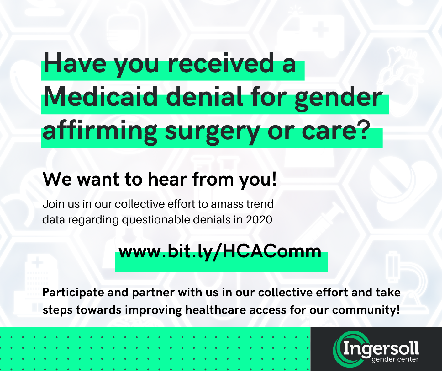 Have you received a Medicaid Denial for Gender Affirming Surgery_Care_